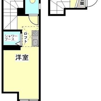 2階のお部屋です◯