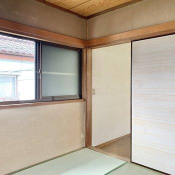 【和室】ギュッとコンパクトな和室ですが、