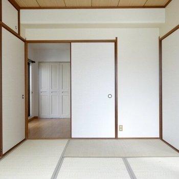 和室は寛ぎスペースに!