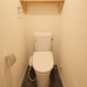 トイレもウォシュレットも新設!※クリーニング前です