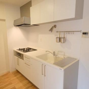 キッチンも贅沢な作りなんです