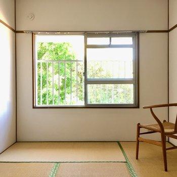 こちらは6帖の和室。(※写真はモデルルームです)