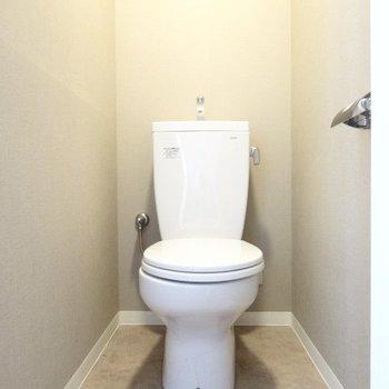 トイレはシンプルにね。