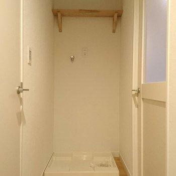 洗濯パンも室内に新設です!