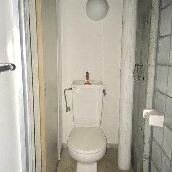 トイレと脱衣所は一体です
