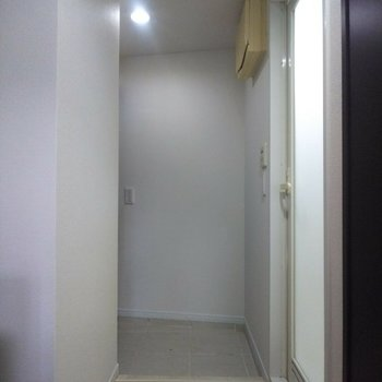 段差の少ない玄関です。※写真は前回募集時のものです
