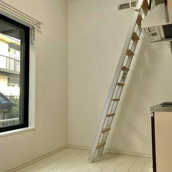 はしごは別の場所に移動も可能です。