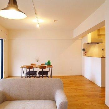 【イメージ】どんな感じで家具を置こうかワクワク ※前回施工の別部屋