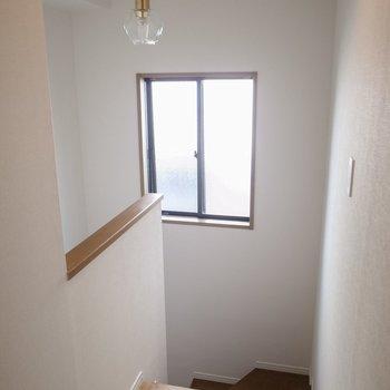 階段にも窓があり明るいですね※前回募集時の写真です
