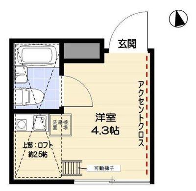 R-STYLE竹ノ塚 2nd の間取り
