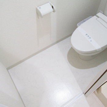 もちろんトイレも広いです。