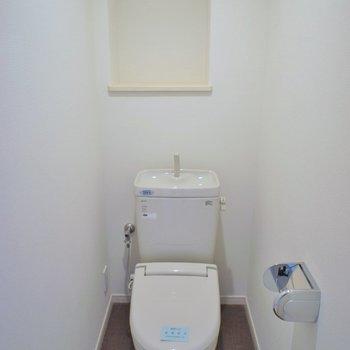 ひろびろトイレ。※写真は、前回撮影時のもの