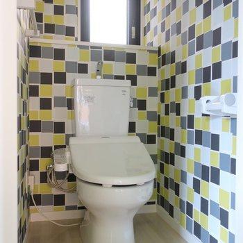 トイレはサイケデリック!