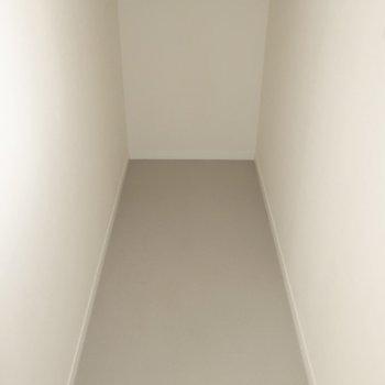 階段下には大きな収納も!生活用品の買い置きはここで決まりだ!