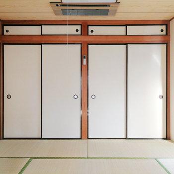【2階部分】和室にも押入れあります。