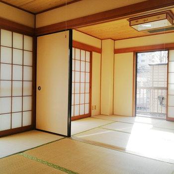 【2階部分】和室が2つくっついてます!