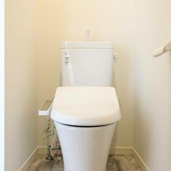トイレの清潔感大事。