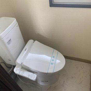 嬉しい温水洗浄便座