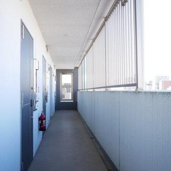 共用廊下(※写真と文章は前回募集時のものです)