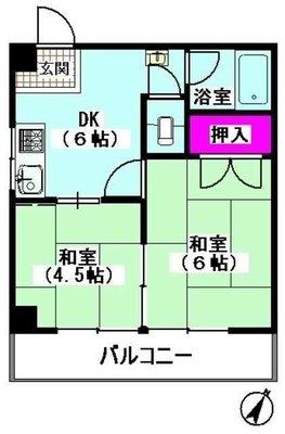 第2京浜ビル の間取り