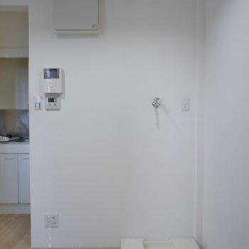 洗濯機は室内、バルコニーがないので、、、