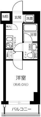 LE-LION Toyosu WISE Residence の間取り