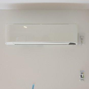 ロフトにも空調が付いています!これはポイント高いな!※写真は1階の同間取り別部屋のものです