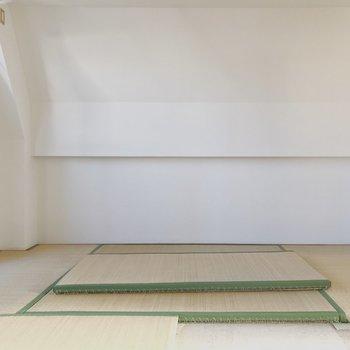 【工事前】和室側は少し壁が斜めってます
