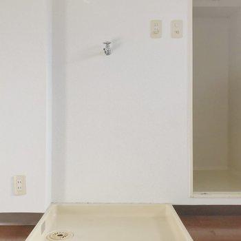 【工事前】洗濯機置き場は変更されます