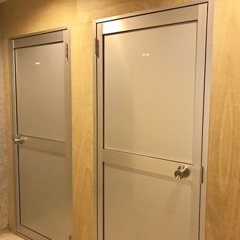 トランクルームもありますよ〜