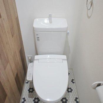 トイレのクロスもお洒落でしょ♩?