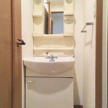 ホテルのようなキレイな洗面台