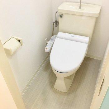 トイレ個室なのはうれしい。※写真は前回募集時のものです