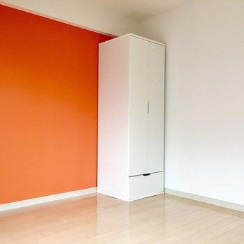 朝から明るい気持ちで目覚められそうなオレンジ。※写真は前回募集時のものです