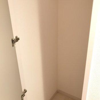 クローゼットありました。※写真は2階の反転間取り別部屋のものです。