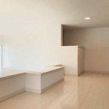 ロフトがこちら!※写真は2階の反転間取り別部屋のものです。