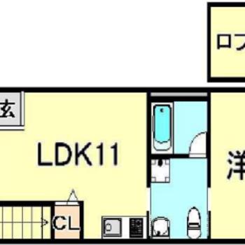 1LDK+ロフト