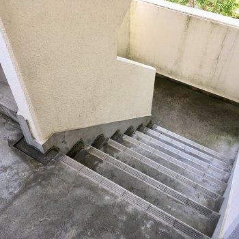 2階なので階段移動もへっちゃら。