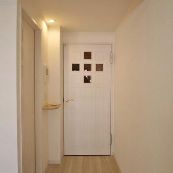 この扉、可愛いっ!!!※写真は同タイプの別室