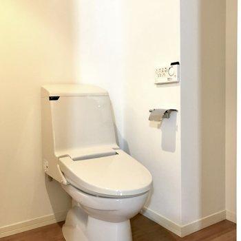 トイレはいつも清潔にしようね。