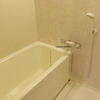 浴室はシンプルだけどぴかぴかです