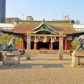 周辺】商売繁盛でさーさ持ってこーーーーい!の今宮戎神社。