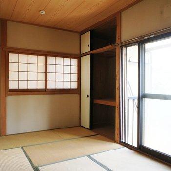 いい和室!日当たりもばっちりです。