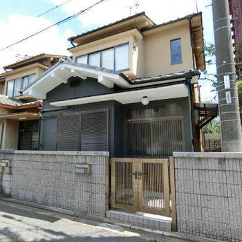 龍安寺駅の家