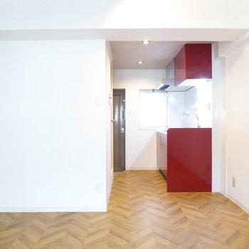 お部屋の差し色になるキッチン(※写真は前回募集時のものです)