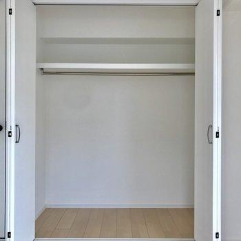 個室② 大きめクローゼットがここにも!収納は十分でしょう!