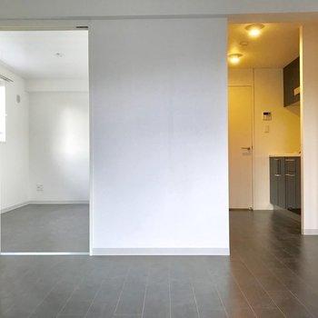 空間のメリハリが、生活にリズムをもたらしてくれそうです。※写真は3階の同間取り別部屋のものです