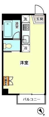 3Dアパートメント の間取り
