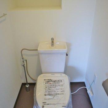 トイレも問題ありません