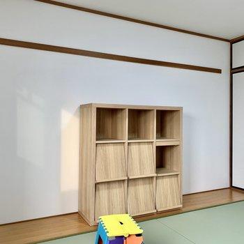 【和室】長押もあるのでお気に入りの物を飾ろう。※写真は3階の同間取り別部屋のものです